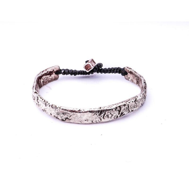 Silver Cuff Bracelet II