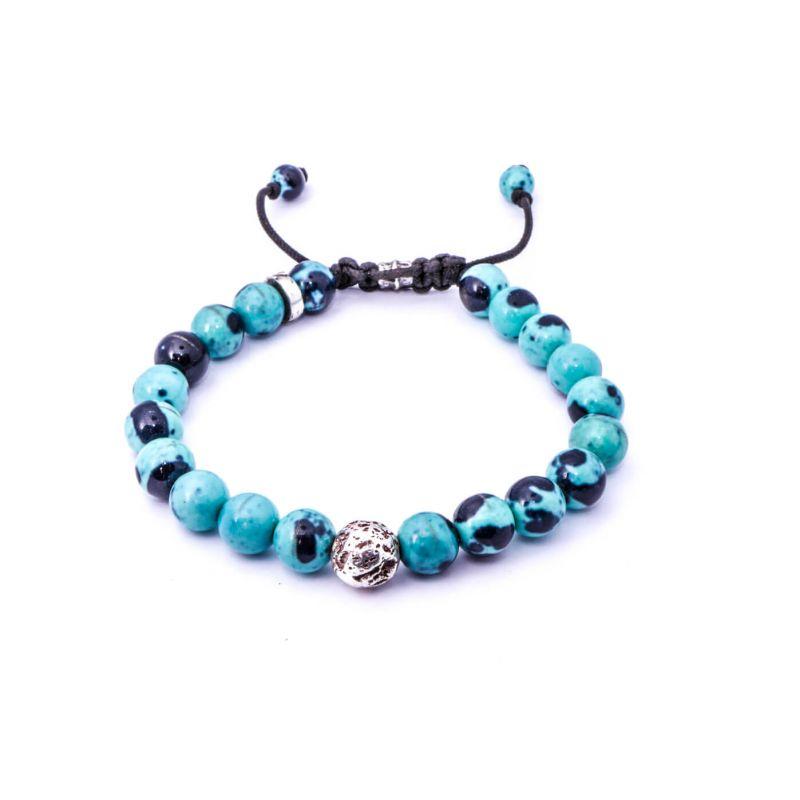 Oceanjasper Silver Bracelet