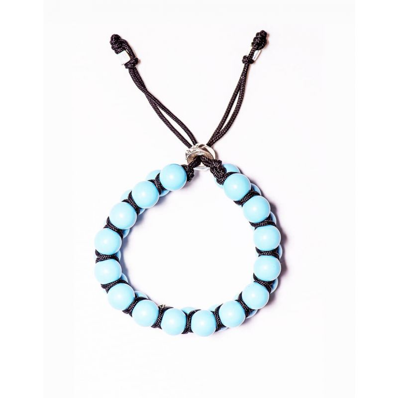 DOUBLE WRAPPED BRACELET WITH Turquoise STONES